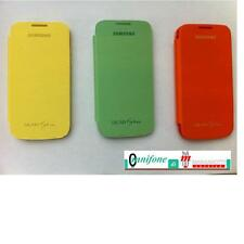 Cover ORIGINALE Samsung Galaxy S4 Mini i9190 i9505 Custodia Flip Book Libro
