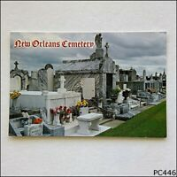 New Orleans Cemetery Cities of the Dead 1993 Postcard (P446)