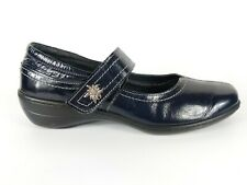 Loretta Navy Patent Leather Mary Jane Shoes Uk 9 Eu 42