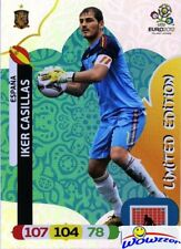 2012 Panini Adrenalyn EURO EXCLUSIVE Iker Casillas Limited Edition SPAIN
