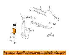 Hummer GM OEM 03-09 H2 Windhsield Wiper-Washer Fluid Pump 88944337