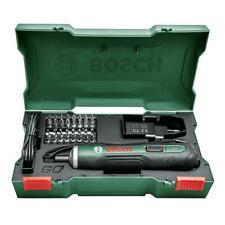 Bosch Akku-Schrauber Akkuschrauber PSR PUSHDRIVE inkl. 32 Bits und Koffer