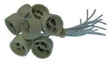 10 Stück GU10 Lampenfassung aus Keramik für LED und Halogen - GU10 Lampen sockel