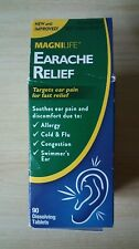 MagniLife Homeopathic Earache Relief 90 Tablets Tinnitus New Factory Sealed