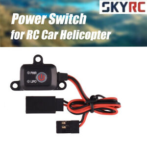 SKYRC Power Switch On/Off MCU Controlled LIPO NIMH Battery for RC Car 1/10 1/8