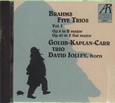 Brahms(CD Album)Piano Trios 1-New