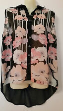 BNWT ~RIVERS BLACK PRINTED TOP~ SIZE 14