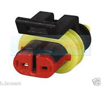 DURITE 0-011-62 2 WAY FEMALE RECEPTACLE HOUSING SUPERSEAL 1.50MM CONNECTOR