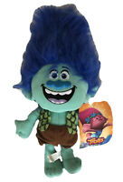 "14"" Large Trolls Movie BRANCH Plush Stuffed Dreamworks LICENSED NWT - US Seller"