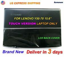 NEW Lenovo Y50-70 15.6 inch Top Lcd Rear Back Cover for Touch AM14R000300 US @