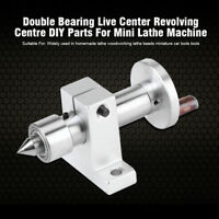 Portable Double Bearing Live Centre Revolving + Wrench For Mini Lathe Machine SG