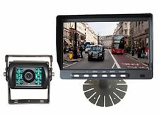 """Rear View Motorhome Reversing Camera Kit with 7"""" monitor and 15M cable, 12V 24V"""