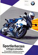 BMW - R 1100 S - Cup Replika - Prospekt - 04/02 - Deutsch - nl-Versandhandel