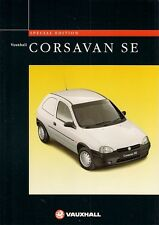 Vauxhall Corsa Van SE 1.7D Limited Edition 1996 UK Market Sales Brochure