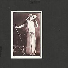 Nostalgia Postcard Elegant Mannequin-Walking Elegance 1920's