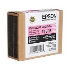 Genuine Epson Pro 3880 T580B vivid Light magenta ink