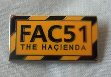 *NEW* Hacienda FAC51 enamel badge,Happy Monday,New Order,Stone Roses,Madchester