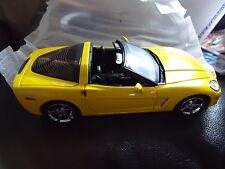 FRANKLIN MINT 2006 CORVETTE C6 LE CAR #003/1000 S11E150 YELLOW MIB FACTOR FRESH