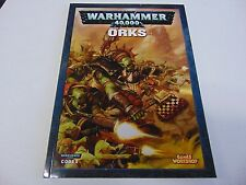 WARHAMMER 40,000 40K ORKS CODEX GAMES WORKSHOP 2007 GM43