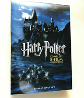 Harry Potter : Complete 8-Film Collection (DVD, 2011, 8-Disc Set) Brand New