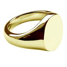 Anillos de joyería sello de oro amarillo oro