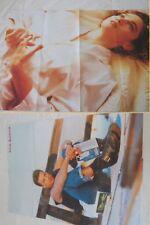 MADONNA Ciccone # NICK KAMEN_vintage poster magazine_originale _1989_cm 55x80