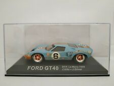 1/43 FORD GT40 GT 40 1969 ICKX OLIVER 24H DU LE MANS IXO ESCALA SCALE DIECAST