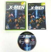 COMPLETE - X-Men Next Dimension - Microsoft Xbox 2002 - Super Hero RPG Game