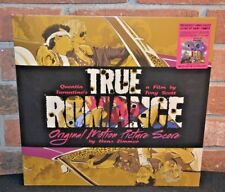 "TRUE ROMANCE - Soundtrack Score - Ltd GUNMETAL GREY LP + PURPLE 7"" Gatefold NEW!"