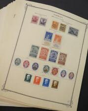 EDW1949SELL : GERMANY Mostly Cplt collection of semi-postal & BOB Catalog $3,168