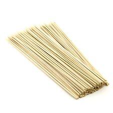 100 X 12 pulgadas palos de madera de bambú brochetas para kebab, barbacoa, Fiesta, palos de fruta