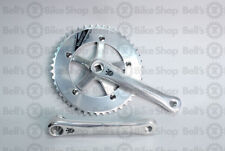Sugino Messenger Cranks Polish Silver 170mm 46T Track Fixed Single Speed