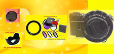 RING ADAPTER+FILTER KIT+HOOD+LENS CAP 58mm >CAMERA SONY Alpha NEX-6 NEX6 /w16-50