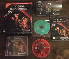 Blade of Darkness (PC, 2000) CD-ROM Computer Game Complete in Box