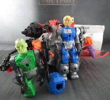 MANTECH LOT 1983 REMCO Action Figure Toy TRAXON Vehicle ROBOT WARRIORS MAN TECH