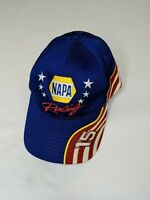 NASCAR Michael Waltrip Racing Hat Cap #15 NAPA Red White Blue Adjustable
