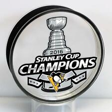 Pittsburgh Penguins 2016 Stanley Cup Champions Acrylic Puck