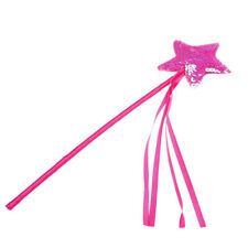 Cute Five pointed Star Fairy Wand Magic Stick Girl Party Princess Favors  O
