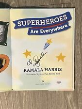 KAMALA HARRIS signed / autographed book ~ VP 2020 ~ POTUS 2024 ~ PSA/DNA COA
