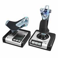 Logitech G Saitek X52 Flight Control System  Sistema de Control para simuladores