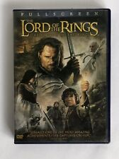The Lord of the Rings: The Return of the King (Dvd, 2-Disc Set) Full Screen