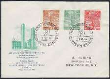 Berlin FDC 88 - 90 sauber mit SST Berlin Festtage 1952, first day cover