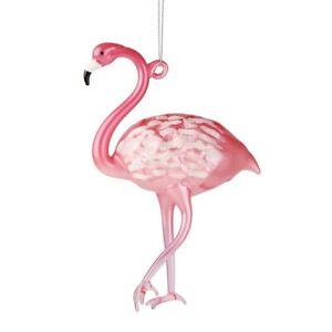 "Department 56 H0 Christmas Coast to Coast Flamingo 5.5"" H Ornament 6006890"