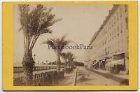 Nice Costa Azzurra Francia CDV Vintage Albume D'Uovo Ca 1870