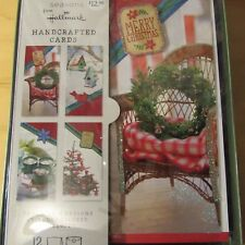 Seasons From Hallmark Handcrafted Cards 12 Pack free shipping