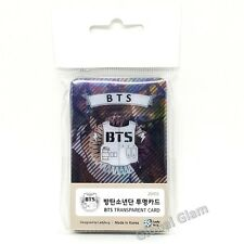 KPOP Star Goods BTS Bangtan Boys 25pcs Transparent Card Photo Cards Korea