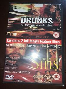 Drunks/Forgotten Sins (2001) DVD ****BRAND NEW AND FACTORY SEALED****