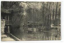 1 CPA 91 Essonne Brunoy Bords De L Yerres Pres La Passerelle D Epinay 1907