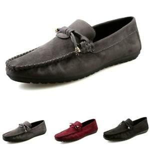 Mens Pumps Slip on Loafers Flats Soft Comfy Breathable Driving Moccasins Shoes B