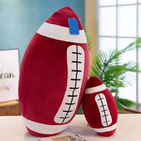 3D 60cm Rugby Plush Toy FootBall Shape Sofa Cushion Pillow Home Decor  Gif